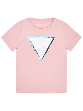Guess Guess Póló K1RI19 K6YW1 Rózsaszín Regular Fit