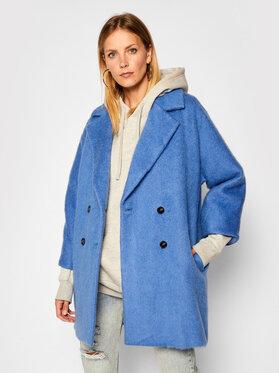 Marella Marella Μάλλινο παλτό Nubie 30161408 Μπλε Relaxed Fit