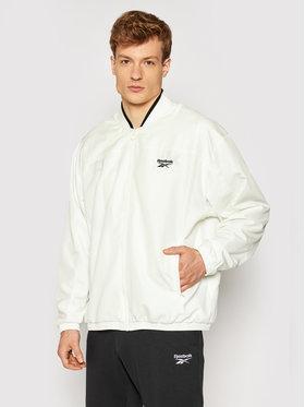 Reebok Reebok Μπόμπερ μπουφάν Classics Back Vector GL2016 Λευκό Relaxed Fit