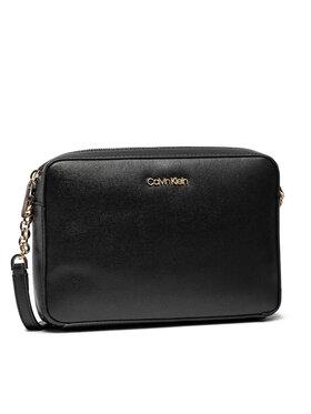 Calvin Klein Calvin Klein Borsetta Camera Bag Md Saffiano K60K608309 Nero