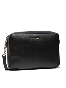 Calvin Klein Calvin Klein Sac à main Camera Bag Md Saffiano K60K608309 Noir