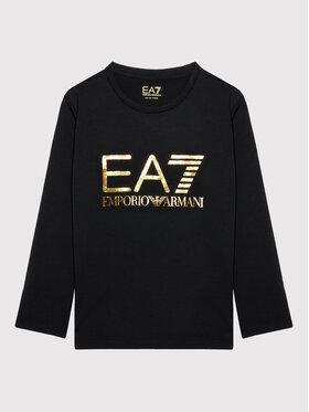EA7 Emporio Armani EA7 Emporio Armani Блуза 6KFT02 FJ29Z 1200 Черен Regular Fit
