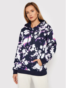 adidas adidas Bluza Hoodie H20442 Granatowy Relaxed Fit