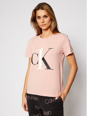 Calvin Klein Underwear Calvin Klein Underwear Póló 000QS6436E Rózsaszín Regular Fit