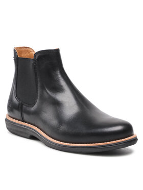 Timberland Timberland Členková obuv s elastickým prvkom City Groove Chelsea TB0A25N1015 Čierna