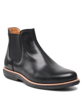 Timberland Timberland Kotníková obuv s elastickým prvkem City Groove Chelsea TB0A25N1015 Černá