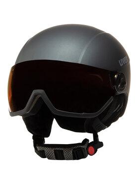 Uvex Uvex Kask narciarski Hlmt 400 Visor Style 5662155005 Szary