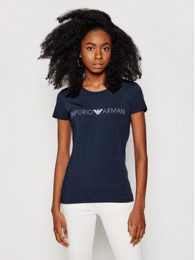 Emporio Armani Underwear Emporio Armani Underwear Tričko 163139 1P227 00135 Tmavomodrá Regular Fit