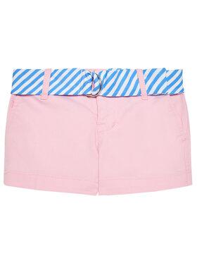 Polo Ralph Lauren Polo Ralph Lauren Medžiaginiai šortai Solid Chino 312834890002 Rožinė Regular Fit
