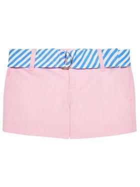 Polo Ralph Lauren Polo Ralph Lauren Szövet rövidnadrág Solid Chino 312834890002 Rózsaszín Regular Fit