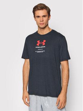 Under Armour Under Armour T-Shirt Ua Engineered Symbol 1366443 Černá Loose Fit