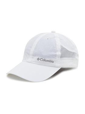 Columbia Columbia Czapka z daszkiem Tech Shade Hat CU993 Biały