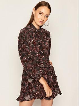 IRO IRO Každodenné šaty Gala AN089 Čierna Regular Fit