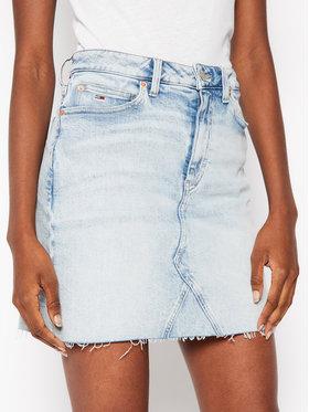 Tommy Jeans Tommy Jeans Spódnica jeansowa Denim DW0DW08408 Czarny Slim Fit