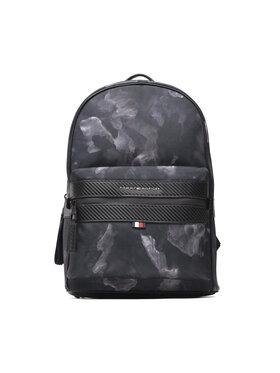 Tommy Hilfiger Tommy Hilfiger Hátizsák Elevated Nylon Camo Backpack AM0AM07904 Sötétkék