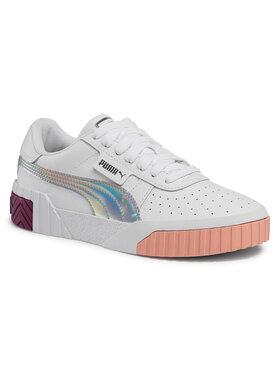 Puma Puma Sneakersy Cali Bubbles Jr 368770 01 Biały