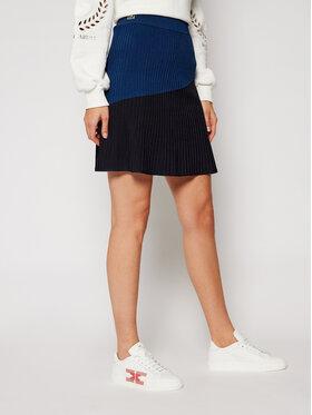 Lacoste Lacoste Spódnica mini JF1302 Granatowy Regular Fit