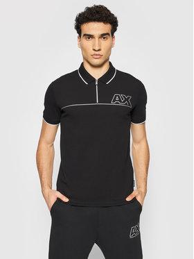 Armani Exchange Armani Exchange Polo marškinėliai 6KZFFE ZJ1VZ 1200 Juoda Regular Fit