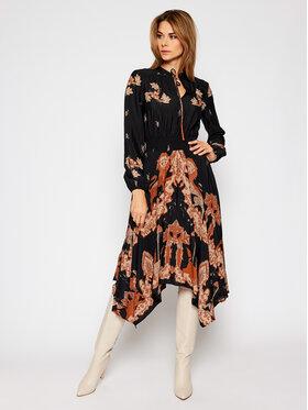 Desigual Desigual Košeľové šaty Ivy 20WWVW80 Čierna Regular Fit