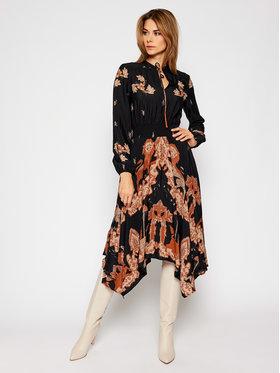 Desigual Desigual Robe chemise Ivy 20WWVW80 Noir Regular Fit