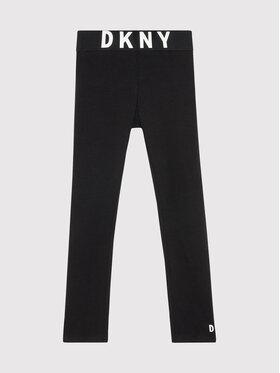 DKNY DKNY Leggings D34A27 D Fekete Slim Fit