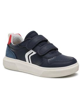 Geox Geox Sneakersy J Nettuno B. C J15AWC 0BU85 C0735 S Tmavomodrá