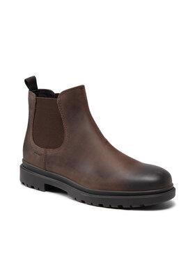 Geox Geox Členková obuv s elastickým prvkom U Andalo A U16DDA-00045 C6009 Hnedá
