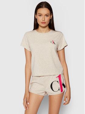 Calvin Klein Underwear Calvin Klein Underwear Pyžamo 000QS6443E Béžová
