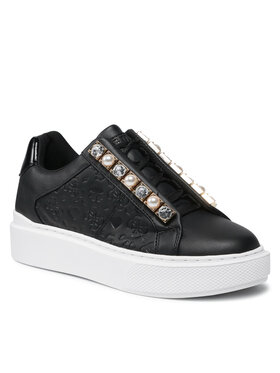 Guess Guess Sneakersy FL8HAY FAL12 Čierna
