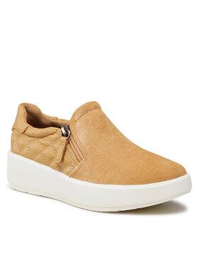 Clarks Clarks Sneakersy Layton Step 261635104 Żółty