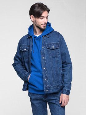 Vistula Vistula Kurtka jeansowa Alphred XA0806 Granatowy Regular Fit