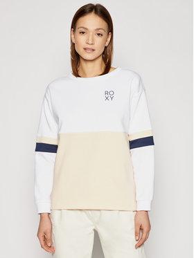 Roxy Roxy Sweatshirt Weekend Vibrations ERJFT04358 Blanc Regular Fit
