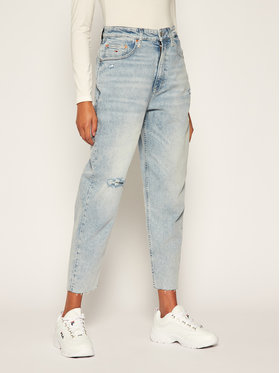 Tommy Jeans Tommy Jeans Дънки тип Relaxed Fit Mom Jean DW0DW08628 Син Tapered Fit