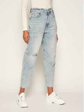 Tommy Jeans Tommy Jeans Relaxed Fit džíny Mom Jean DW0DW08628 Modrá Tapered Fit