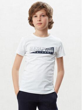 Napapijri Tričko Saky N0YIWI Béžová Regular Fit
