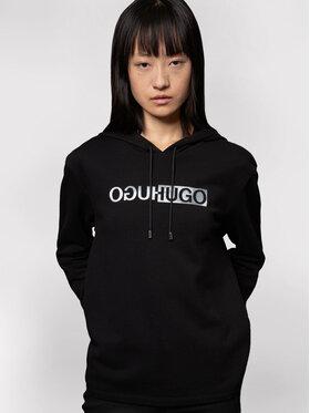 Hugo Hugo Sweatshirt Nemolia_2 50443059 Schwarz Regular Fit