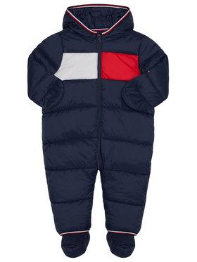 TOMMY HILFIGER TOMMY HILFIGER Overal Baby Flag KN0KN01160 Tmavomodrá Regular Fit