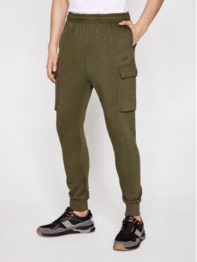 Sprandi Sprandi Teplákové nohavice SS21-SPM002 Zelená Regular Fit