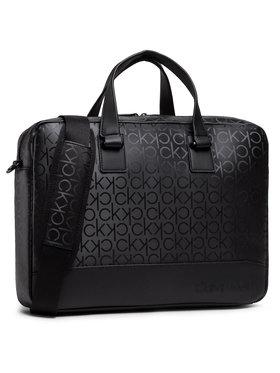 Calvin Klein Calvin Klein Taška na laptop Laptop Bag W/Pckt K50K506703 Čierna