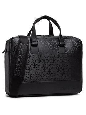 Calvin Klein Calvin Klein Torba na laptopa Laptop Bag W/Pckt K50K506703 Czarny