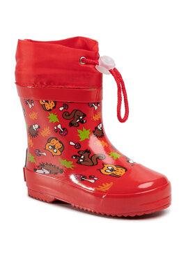 Playshoes Playshoes Kalosze 180390 S Czerwony