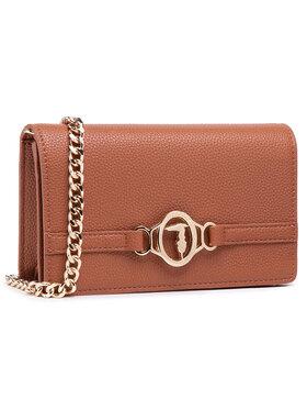 Trussardi Trussardi Handtasche Pre Poppy Clutch 75B01125 Braun