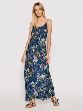 Triumph Triumph Φόρεμα καλοκαιρινό Botanical 10207930 Σκούρο μπλε Regular Fit
