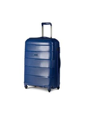Puccini Puccini Střední Tvrdý kufr Bahamas PP016B 7A Tmavomodrá
