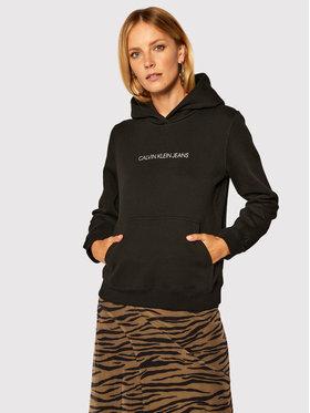 Calvin Klein Jeans Calvin Klein Jeans Mikina J20J214808 Čierna Regular Fit