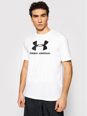 Under Armour Under Armour T-Shirt Ua Sportstyle Logo 1329590 Bílá Loose Fit
