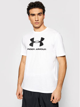 Under Armour Under Armour T-Shirt Ua Sportstyle Logo 1329590 Weiß Loose Fit