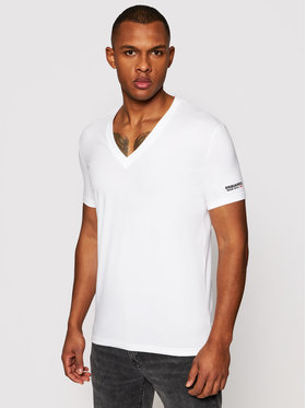 Dsquared2 Underwear Dsquared2 Underwear T-Shirt D9M453520.10013 Biały Slim Fit