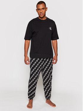 Calvin Klein Underwear Calvin Klein Underwear Pyžamo 000NM1787E Čierna