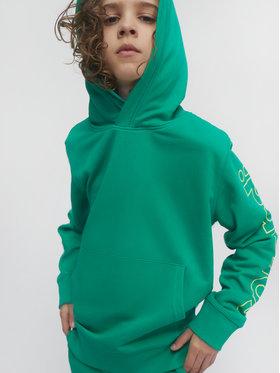 Sprandi Sprandi Majica dugih rukava SS21-BLB002 Zelena Regular Fit